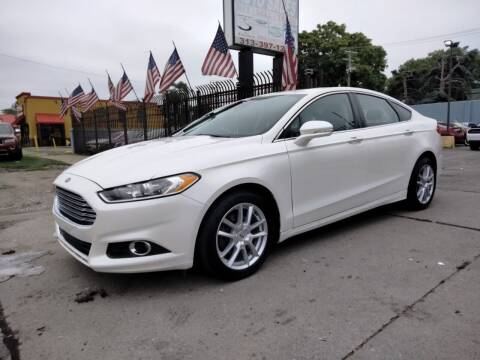2013 Ford Fusion for sale at Gus's Used Auto Sales in Detroit MI