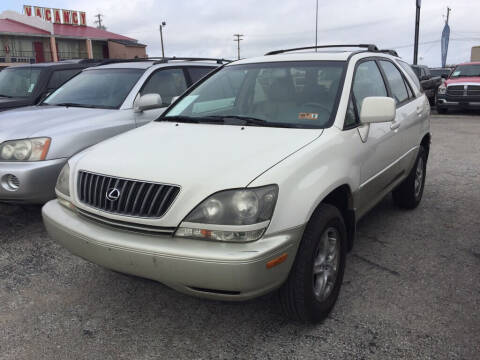 2000 Lexus RX 300 for sale at Drive Today Auto Sales in Mount Sterling KY