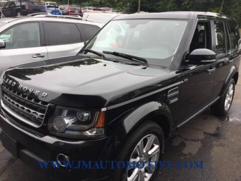 2014 Land Rover LR4 for sale at J & M Automotive in Naugatuck CT