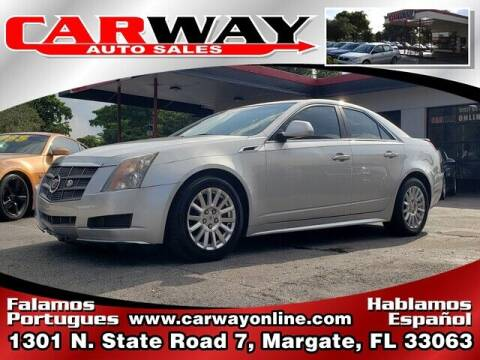 2011 Cadillac CTS for sale at CARWAY Auto Sales in Margate FL