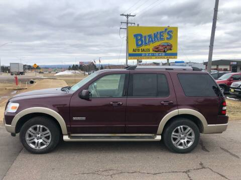 2006 Ford Explorer for sale at Blake's Auto Sales in Rice Lake WI