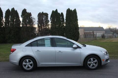 2016 Chevrolet Cruze Limited for sale at D & B Auto Sales LLC in Washington Township MI