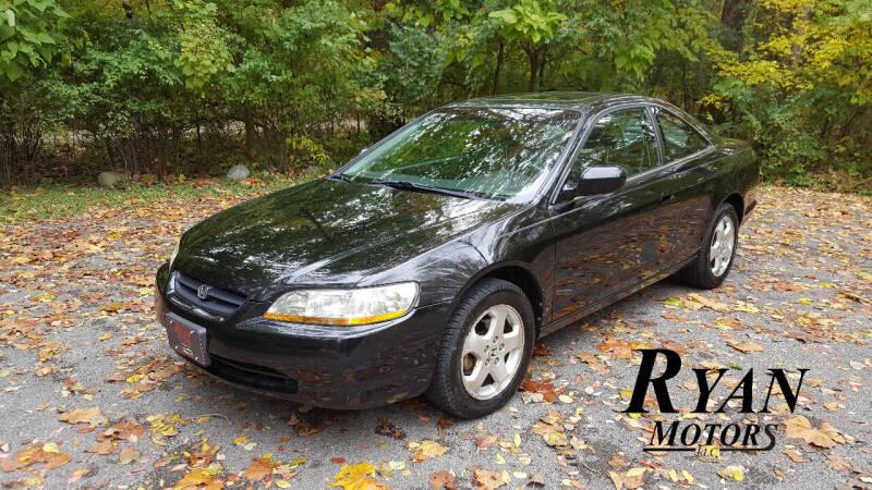 1999 Honda Accord for sale at Ryan Motors LLC in Warsaw IN