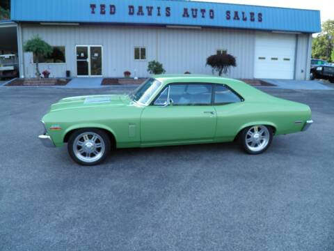 1970 Chevrolet Nova for sale at Ted Davis Auto Sales in Riverton WV