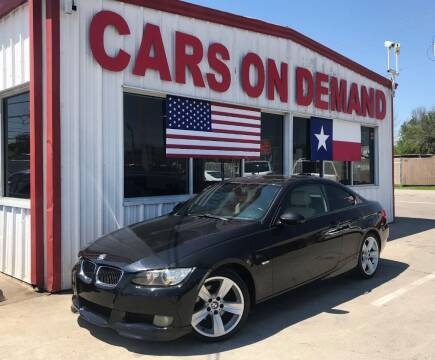 2009 BMW 3 Series for sale at Cars On Demand 3 in Pasadena TX