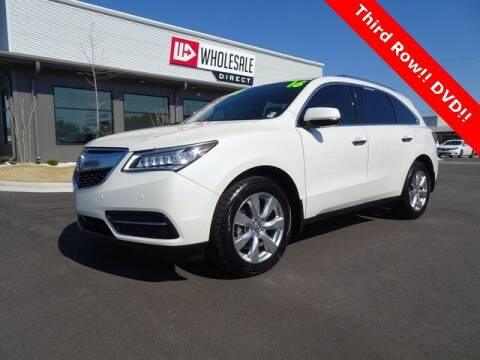 2016 Acura MDX for sale at Wholesale Direct in Wilmington NC