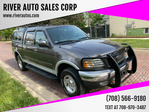 2003 Ford F-150 for sale at RIVER AUTO SALES CORP in Maywood IL