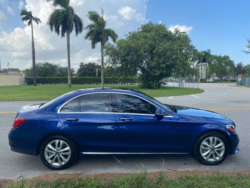 2019 Mercedes-Benz C-Class for sale at Nation Autos Miami in Hialeah FL