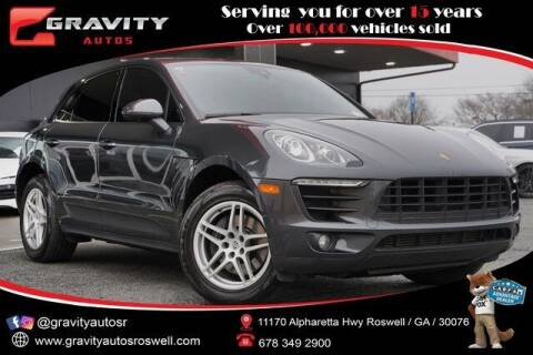 2017 Porsche Macan for sale at Gravity Autos Roswell in Roswell GA