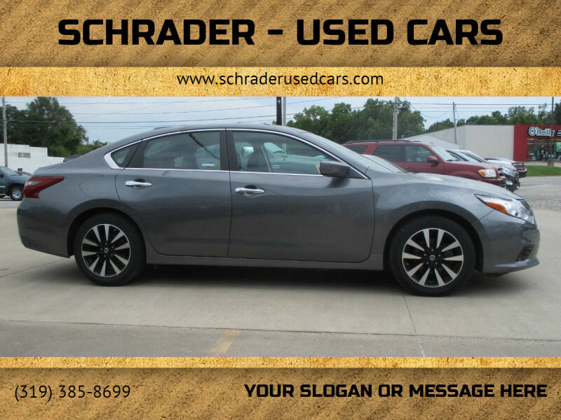 2017 Nissan Altima for sale at Schrader - Used Cars in Mt Pleasant IA