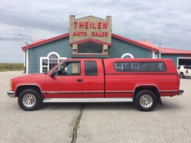 1996 Chevrolet C/K 2500 Series for sale at THEILEN AUTO SALES in Clear Lake IA