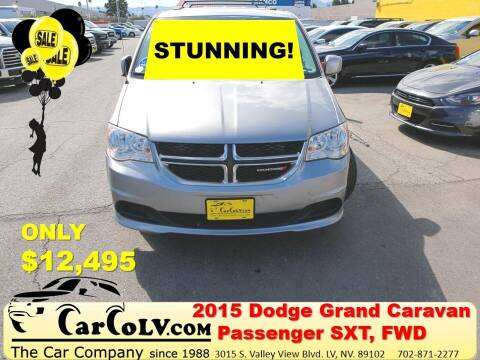 2015 Dodge Grand Caravan for sale at The Car Company in Las Vegas NV