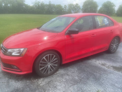 2017 Volkswagen Jetta for sale at EAGLE ONE AUTO SALES in Leesburg OH