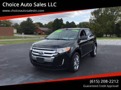 2011 Ford Edge for sale at Choice Auto Sales LLC - Buy Here Pay Here in White House TN
