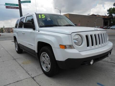 2015 Jeep Patriot for sale at Metropolitan Automan, Inc. in Chicago IL