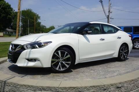 2017 Nissan Maxima for sale at Platinum Motors LLC in Heath OH