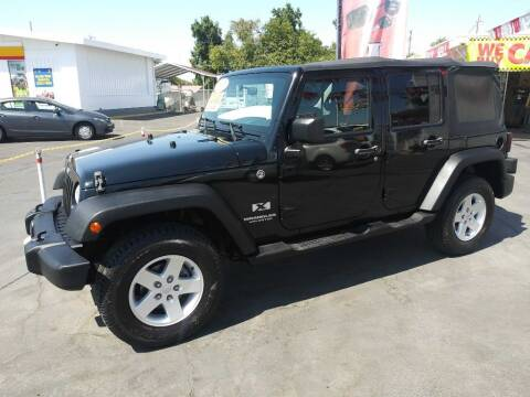2007 Jeep Wrangler Unlimited for sale at Speciality Auto Sales in Oakdale CA