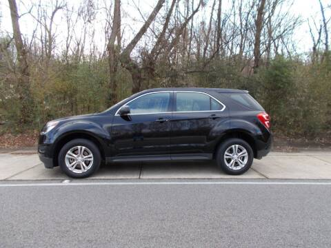 2016 Chevrolet Equinox for sale at A & P Automotive in Montgomery AL