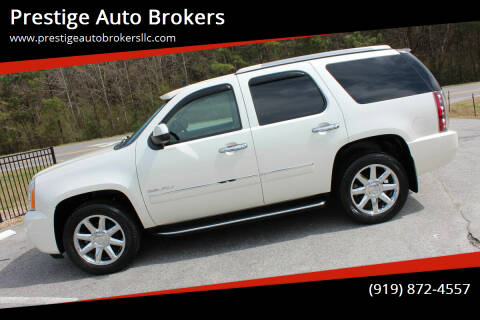2011 GMC Yukon for sale at Prestige Auto Brokers in Raleigh NC