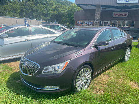 2015 Buick LaCrosse for sale at Car Guys in Lenoir NC