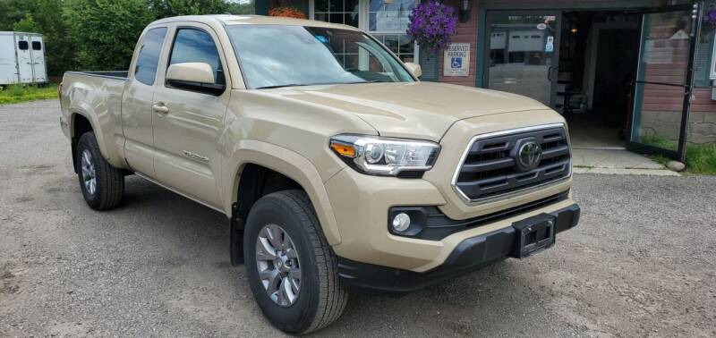 2018 Toyota Tacoma for sale at Village Car Company in Hinesburg VT