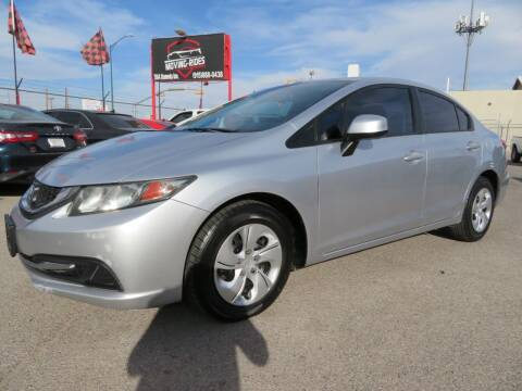 2013 Honda Civic for sale at Moving Rides in El Paso TX