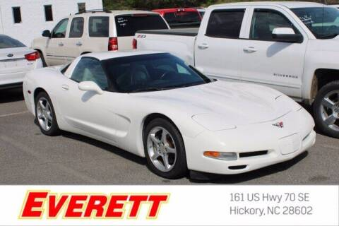 2002 Chevrolet Corvette for sale at Everett Chevrolet Buick GMC in Hickory NC
