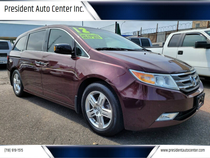 2012 Honda Odyssey for sale at President Auto Center Inc. in Brooklyn NY