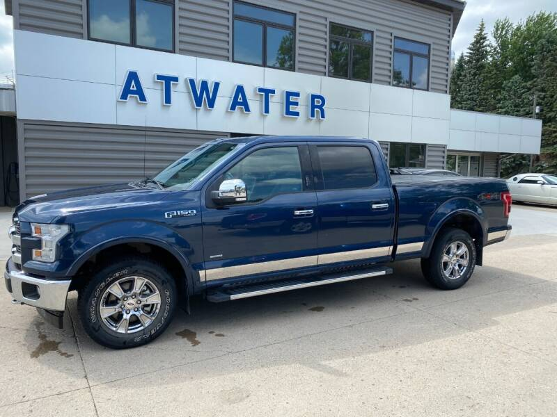 2017 Ford F-150 for sale at Atwater Ford Inc in Atwater MN