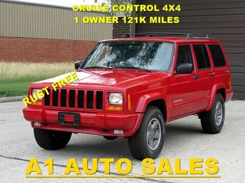 1999 Jeep Cherokee for sale at A1 Auto Sales in Burr Ridge IL