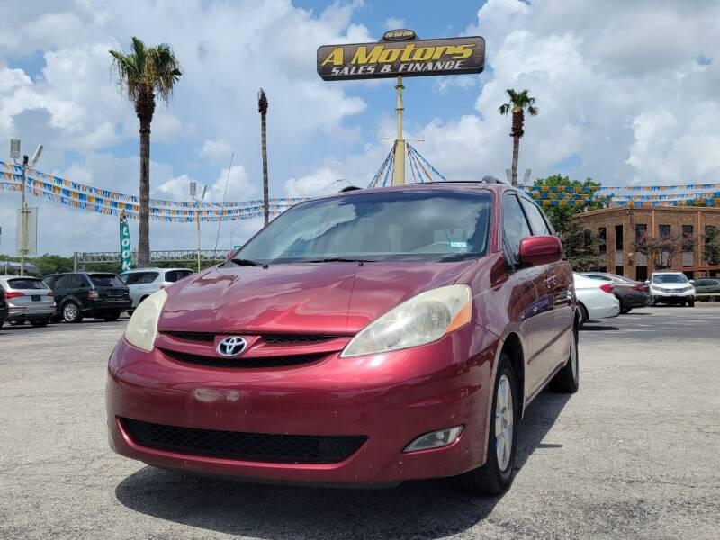 2008 Toyota Sienna for sale at A MOTORS SALES AND FINANCE - 6226 San Pedro Lot in San Antonio TX