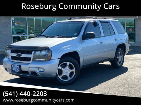2009 Chevrolet TrailBlazer for sale at Roseburg Community Cars in Roseburg OR