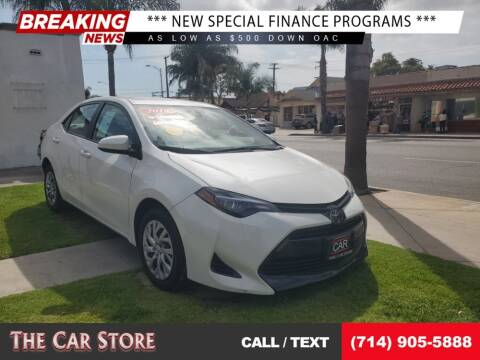 2018 Toyota Corolla for sale at The Car Store in Santa Ana CA