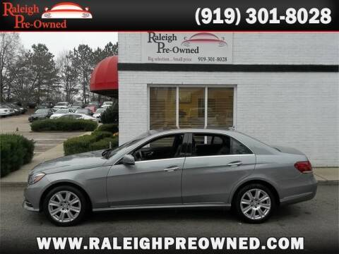 2014 Mercedes-Benz E-Class for sale at Raleigh Pre-Owned in Raleigh NC