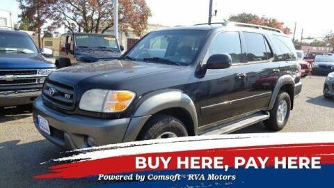 2004 Toyota Sequoia for sale at RVA MOTORS in Richmond VA