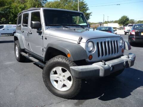 2013 Jeep Wrangler Unlimited for sale at Wade Hampton Auto Mart in Greer SC