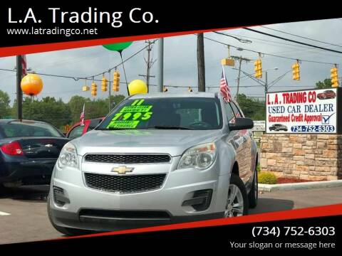 2011 Chevrolet Equinox for sale at L.A. Trading Co. in Woodhaven MI