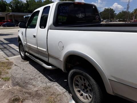 1999 Ford F-150 for sale at U-Safe Auto Sales in Deland FL