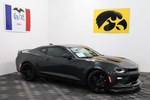 2017 Chevrolet Camaro for sale at Carousel Auto Group in Iowa City IA