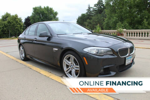 2012 BMW 5 Series for sale at K & L Auto Sales in Saint Paul MN