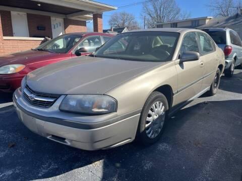 2003 Chevrolet Impala for sale at JC Auto Sales in Belleville IL
