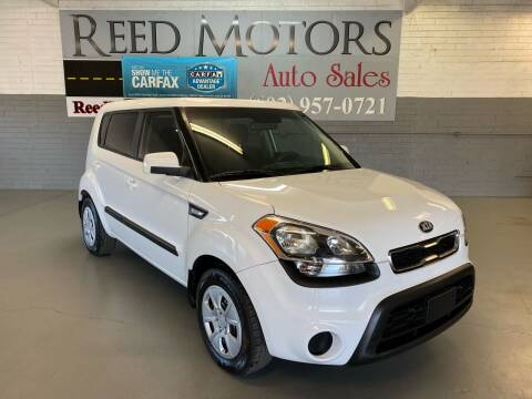 2013 Kia Soul for sale at REED MOTORS LLC in Phoenix AZ