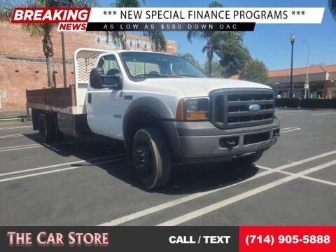 2007 Ford F-550 Super Duty for sale at The Car Store in Santa Ana CA