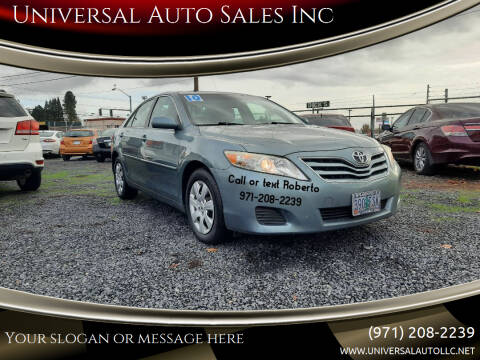 2010 Toyota Camry for sale at Universal Auto Sales Inc in Salem OR
