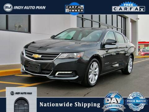 2019 Chevrolet Impala for sale at INDY AUTO MAN in Indianapolis IN