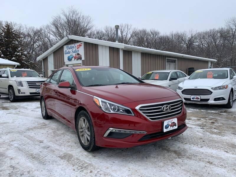 2015 Hyundai Sonata for sale at Victor's Auto Sales Inc. in Indianola IA