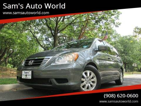 2008 Honda Odyssey for sale at Sam's Auto World in Roselle NJ