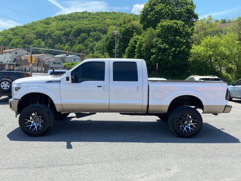 2011 Ford F-250 Super Duty for sale at Mulligan's Auto Exchange LLC in Paxinos PA