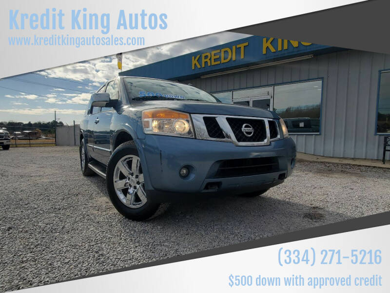 2010 Nissan Armada for sale at Kredit King Autos in Montgomery AL