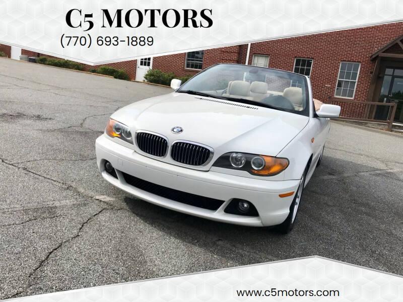 2004 BMW 3 Series for sale at C5 Motors in Marietta GA